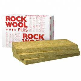 Базальтова вата Rockwool Rockmin PLUS 1000х610х60
